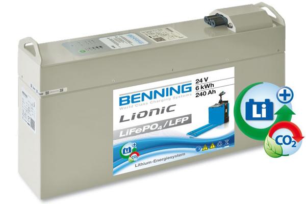 Benning Lionic - Batteries